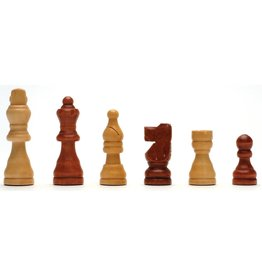 Wood Expressions French Staunton Wood Chessmen with 2.5 inch King