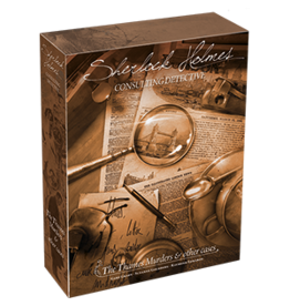 Asmodee Editions Sherlock Holmes: Consulting Detective - The Thames Murders and Other Cases