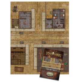 Deadlands Town Map Pack 2: Boot Hill