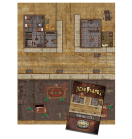 Deadlands Town Map Pack 1: The Grand Saloon