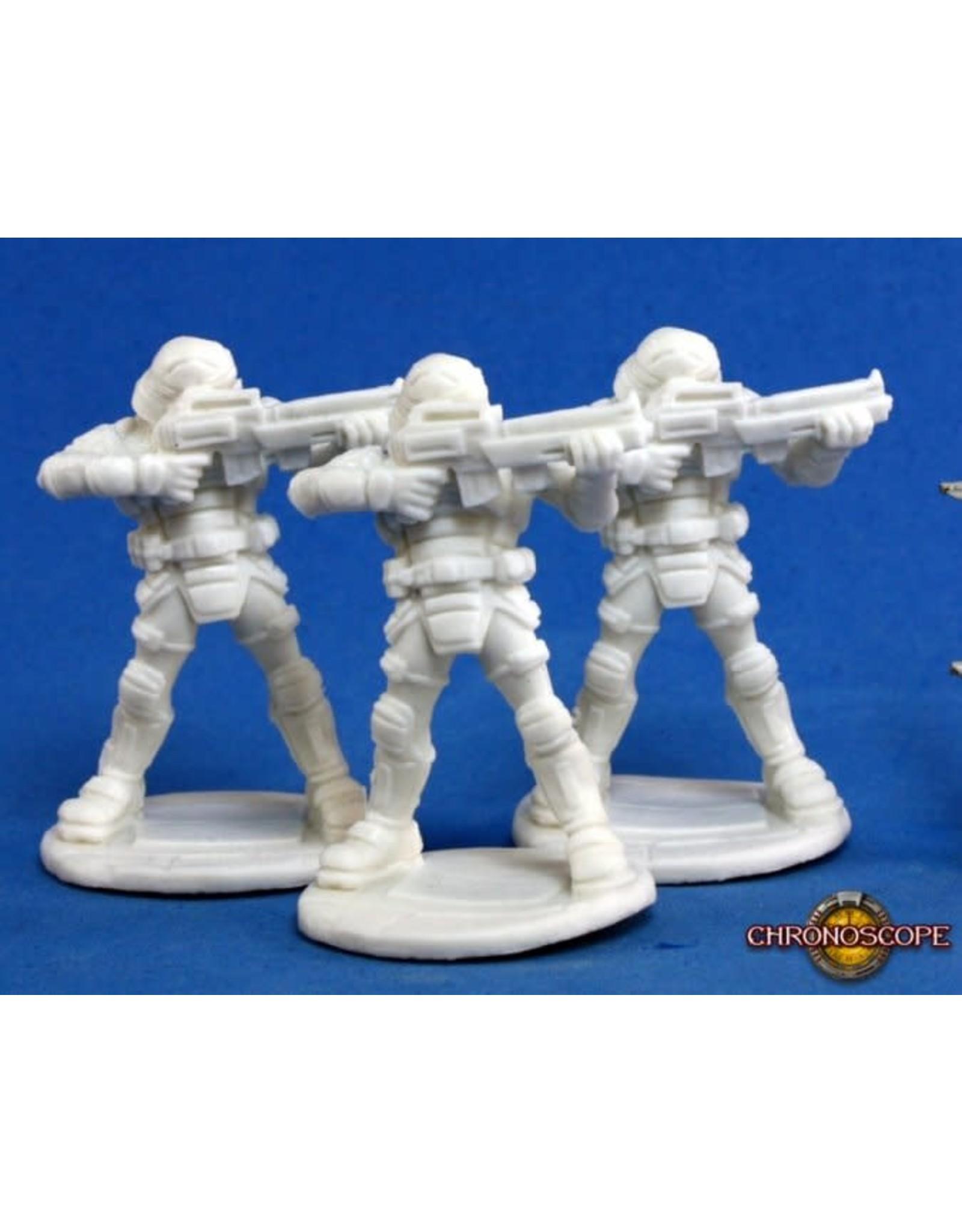Reaper Miniatures Bones: Nova Corp:Guard
