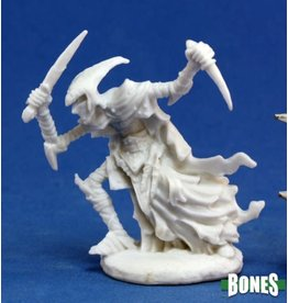 Reaper Miniatures Bones: Zalash, Dark Elf Assassin
