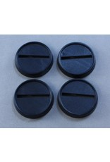 """Reaper Miniatures 1"""" 25mm Round Plastic Slotted Gaming Base"""