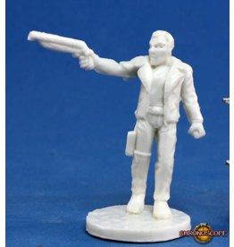 Reaper Miniatures Bones: Rex, Dark Future Hero