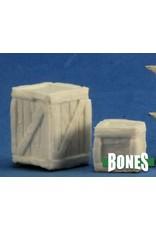 Reaper Miniatures Bones: Large Crate + Small Crate