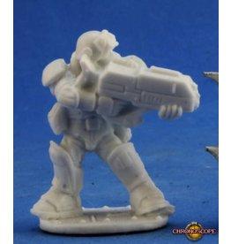 Reaper Miniatures Bones: Slyder IMEF Trooper