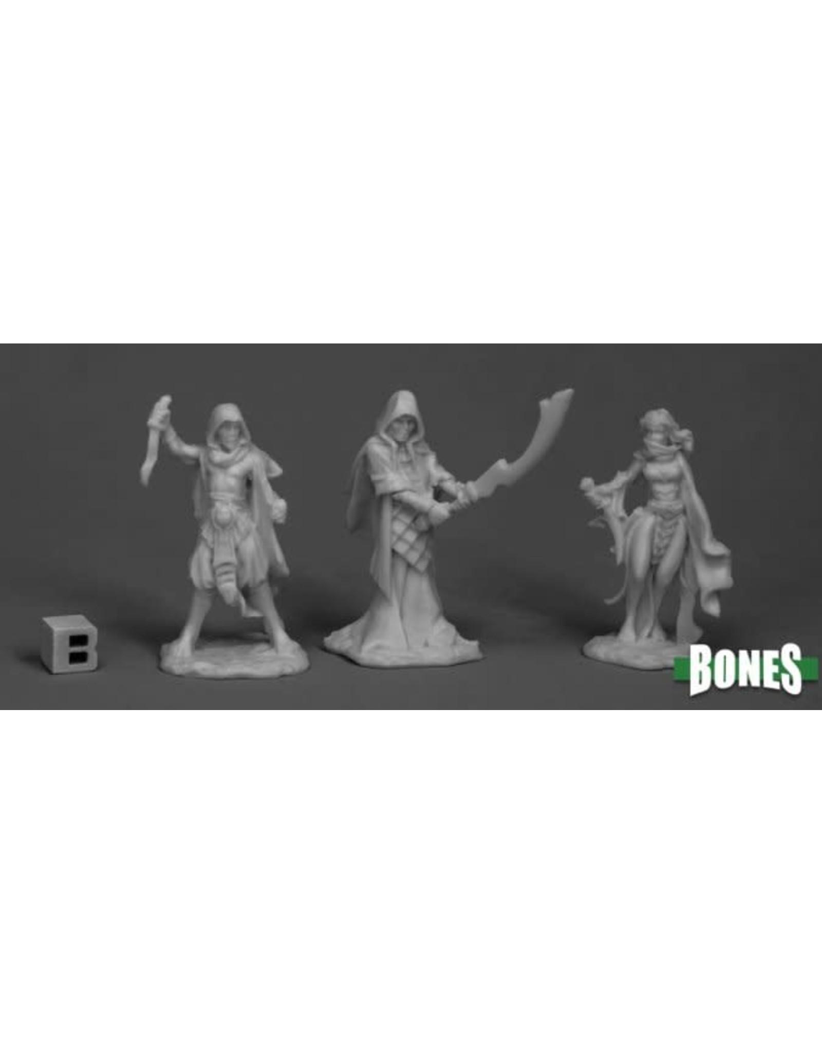 Reaper Miniatures Bones: Cultists (3)