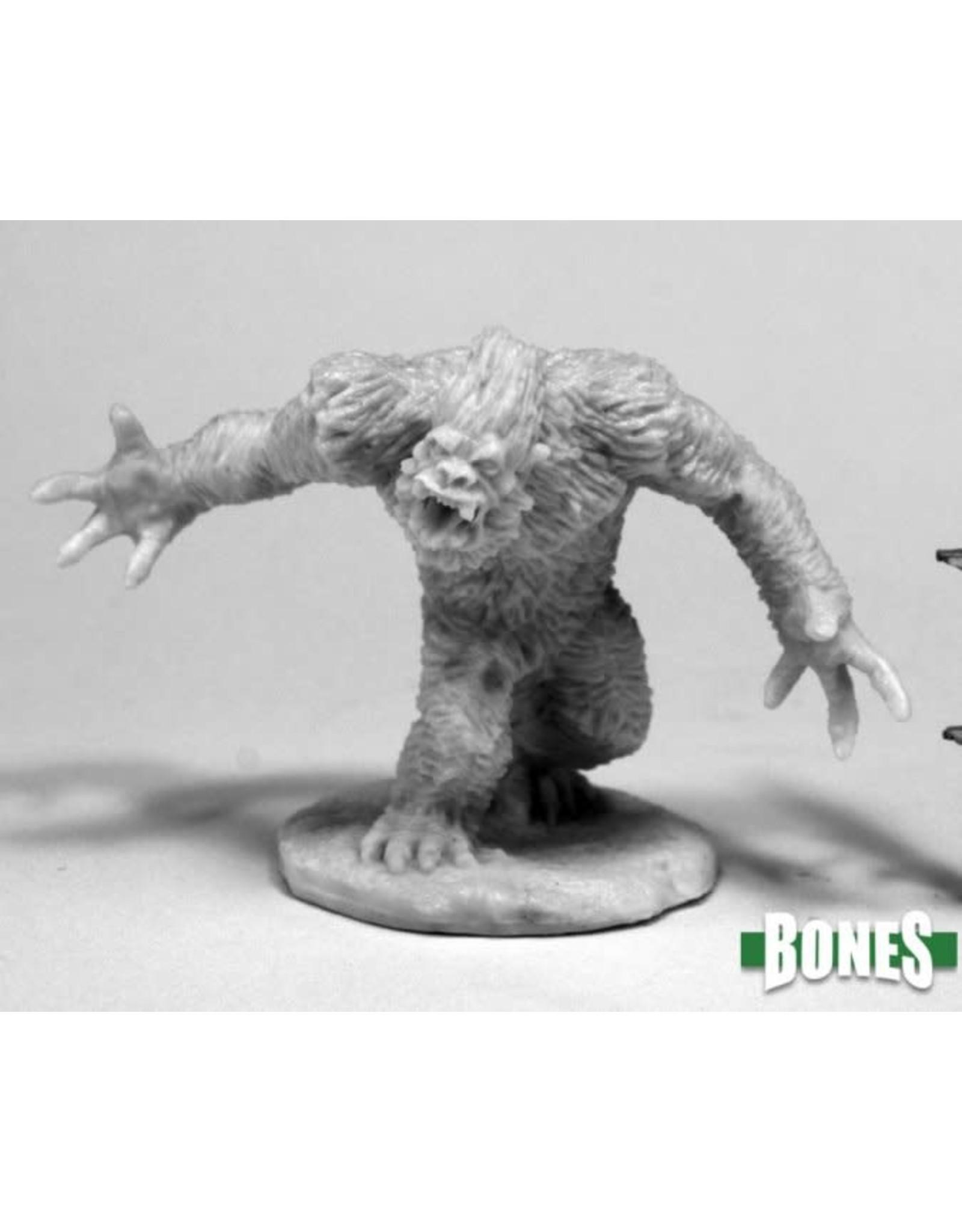 Reaper Miniatures Bones: Yeti Shredder