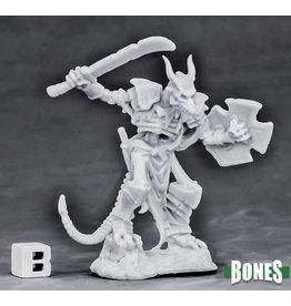 Reaper Miniatures Bones Undying Lizardfolk