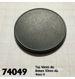 Reaper Miniatures 50mm Round Gaming Base (10)