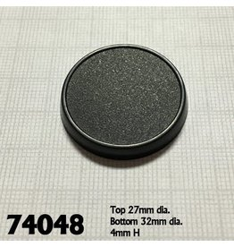 Reaper Miniatures 32mm Round Gaming Base (10)