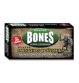 Reaper Miniatures MSP Bones: Dungeon Colors Paint Set
