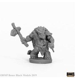 Reaper Miniatures Bones Black Armorback Barbarian