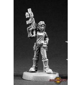 Reaper Miniatures Rosie Johnson, Chronotech