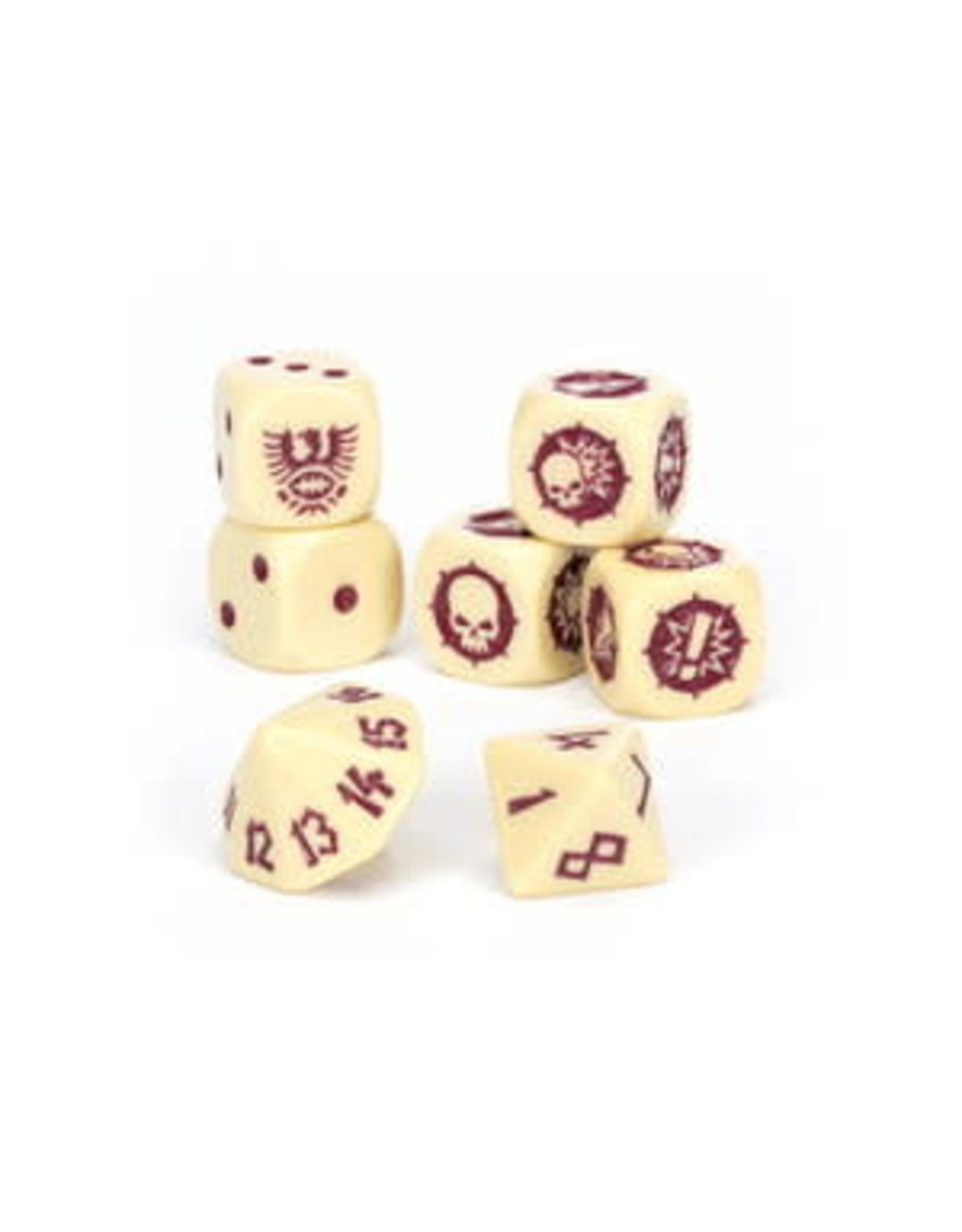 Games Workshop Blood Bowl: Imperial Nobility Team Dice Set
