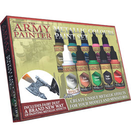 Army Painter Warpaints: Metallic Colours Paint Set