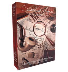 Asmodee Editions Sherlock Holmes Consulting Detective: Jack the Ripper & West End Adventures