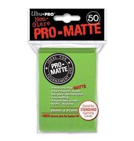 Ultra Pro DP: PRO Matte Lime Green (50)