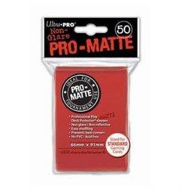 Ultra Pro DP: PRO Matte Red (50)
