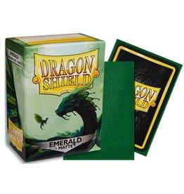 Dragon Shields: (100) Emerald Matte