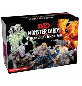 Gale Force Nine Dungeons and Dragons RPG: Monster Cards - Mordenkainen's Tome of Foes (109 cards)