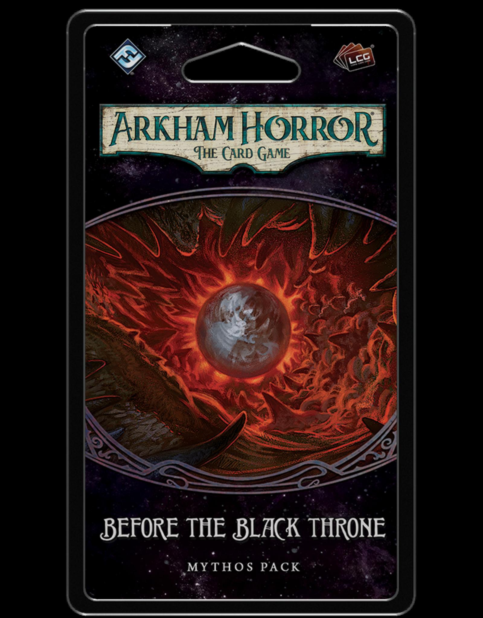 Fantasy Flight Games Arkham Horror LCG: Before The Black Throne Mythos Pack