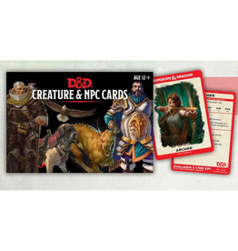 Dungeons and Dragons RPG: Creatures & NPC Cards