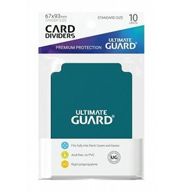 Ultimate Guard Ultimate Guard Card Dividers Petrol Blue