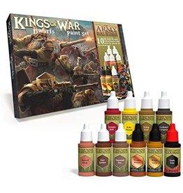 Army Painter Warpaints: Kings of War Dwarfs Paint Set (10)