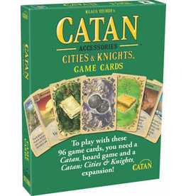 Catan Studios Catan: Replacement Cards for Cities and Knights