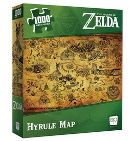 Usaopoly Puzzle: The Legend of Zelda - Hyrule Map 1000pcs