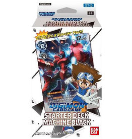 Bandai Co. Digimon TCG: Starter Deck Display - Machine Black