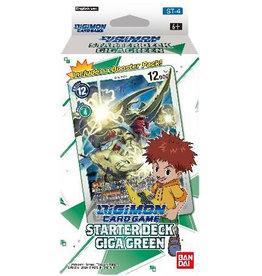 Bandai Co. Digimon TCG: Starter Deck Display - Giga Green