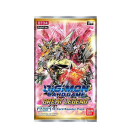 Bandai Co. Digimon TCG: Great Legend Booster Pack