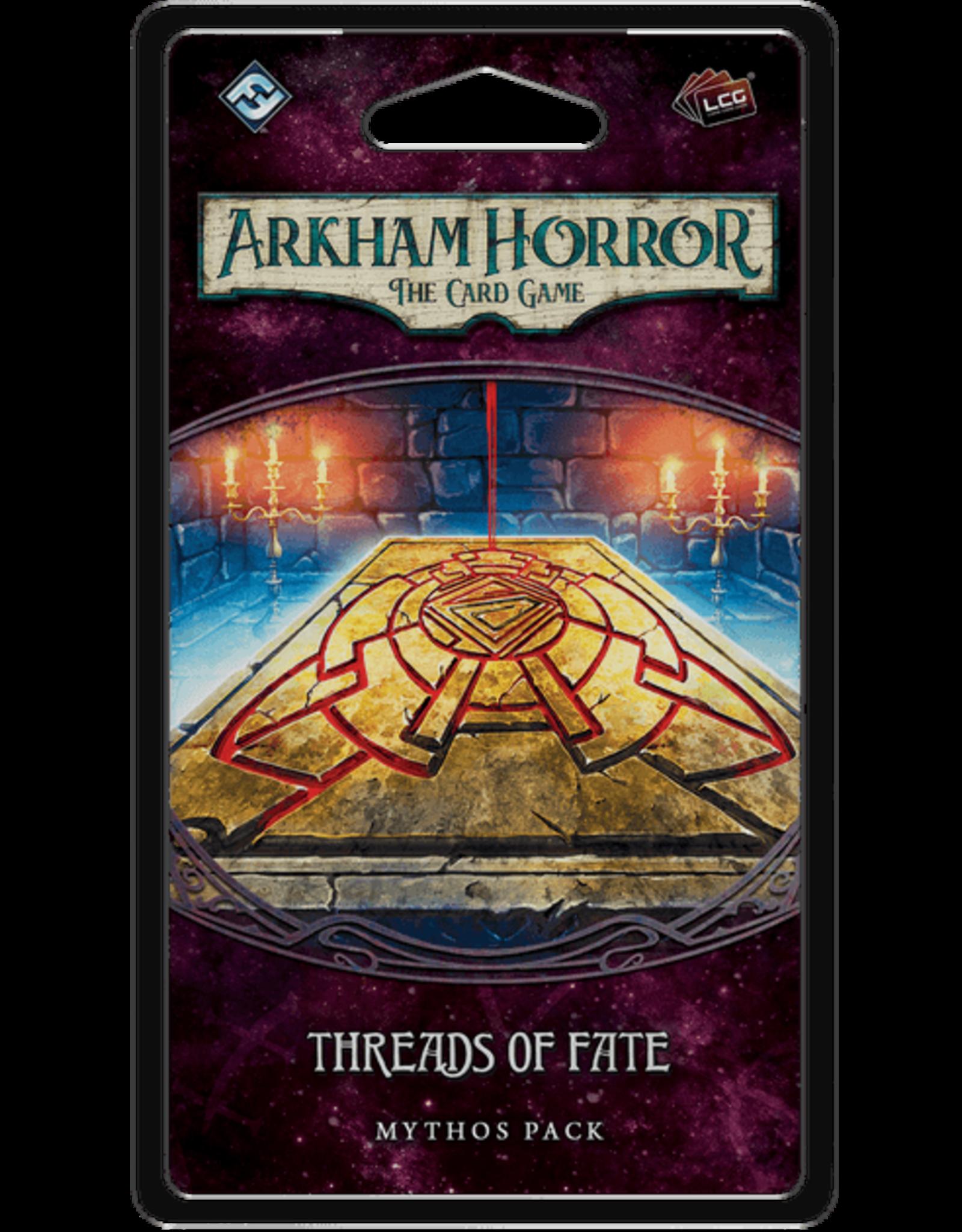 Arkham Horror LCG Threads of Fate Mythos Pack