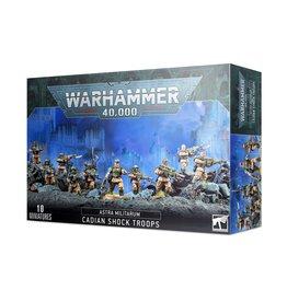 Games Workshop Astra Militarum Cadian Shock Troops