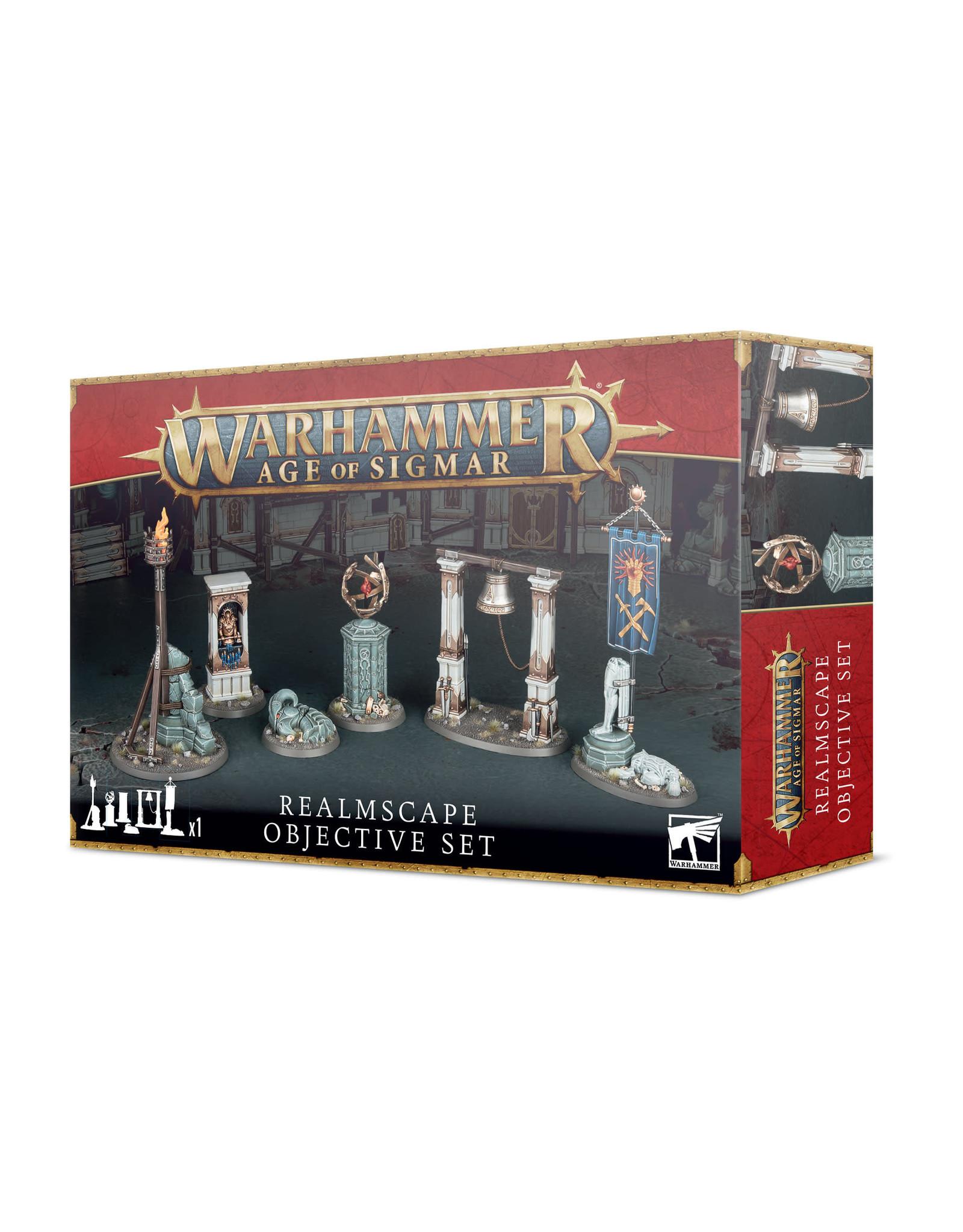 Games Workshop Age of Sigmar Realmscape Objective Set