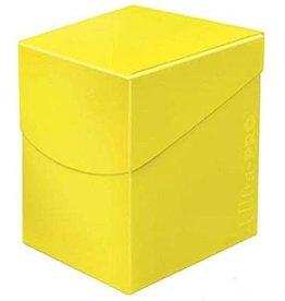 Ultra Pro Eclipse Deck Box: 100+ Yellow