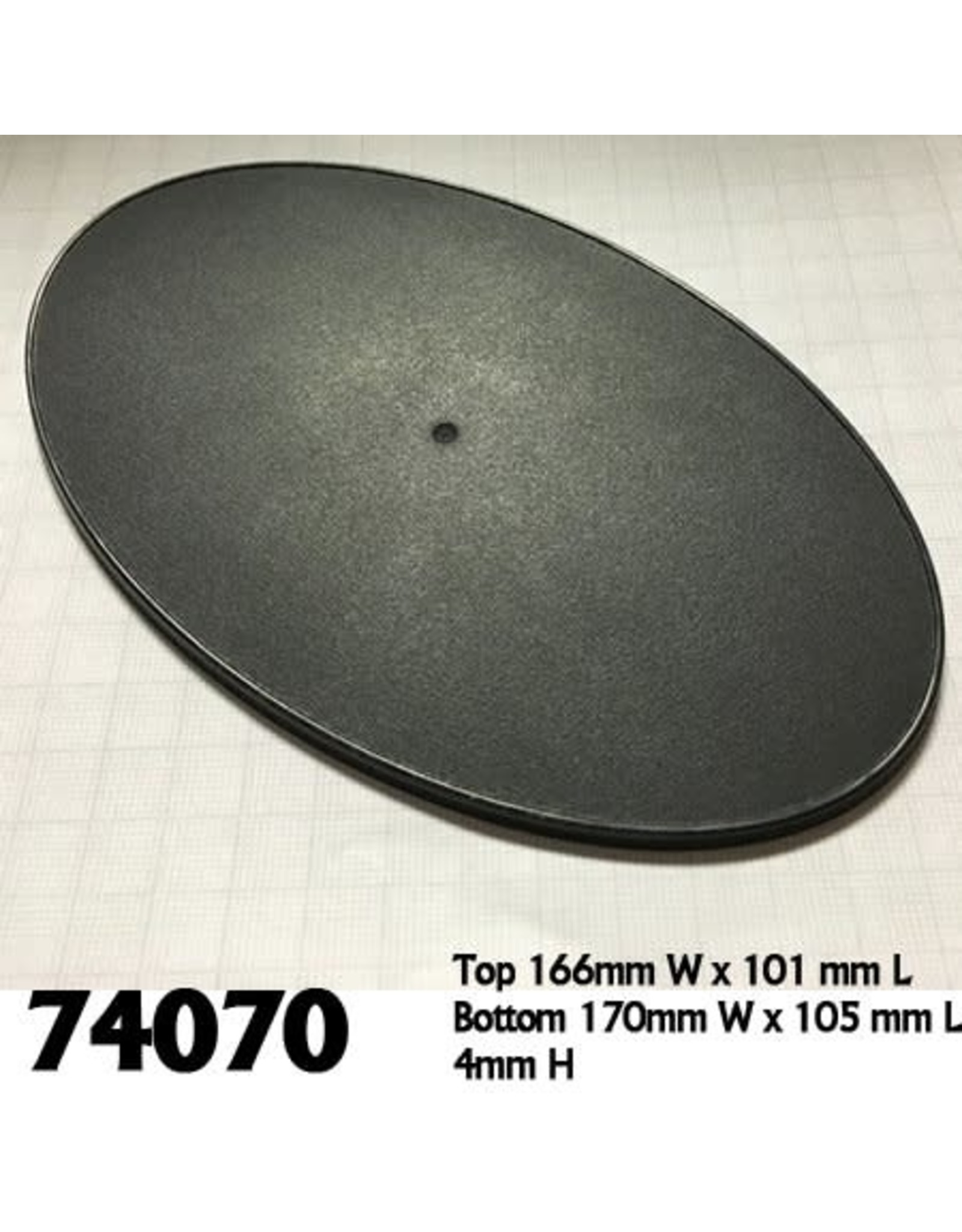 Reaper Miniatures 170mm x 105mm Oval Gaming Base
