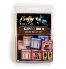 Gale Force Nine Firefly the game Cargo Hold shiny token set