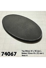 Reaper Miniatures 90mm x 52mm Oval Gaming Base