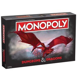 Usaopoly Dungeons & Dragons Monopoly