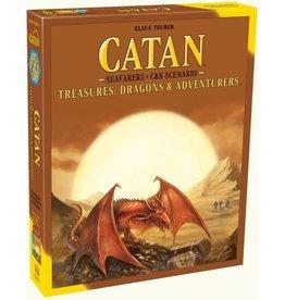 Catan Studios Catan: Seafarers + C&K Scenario Treasures, Dragons & Adventurers
