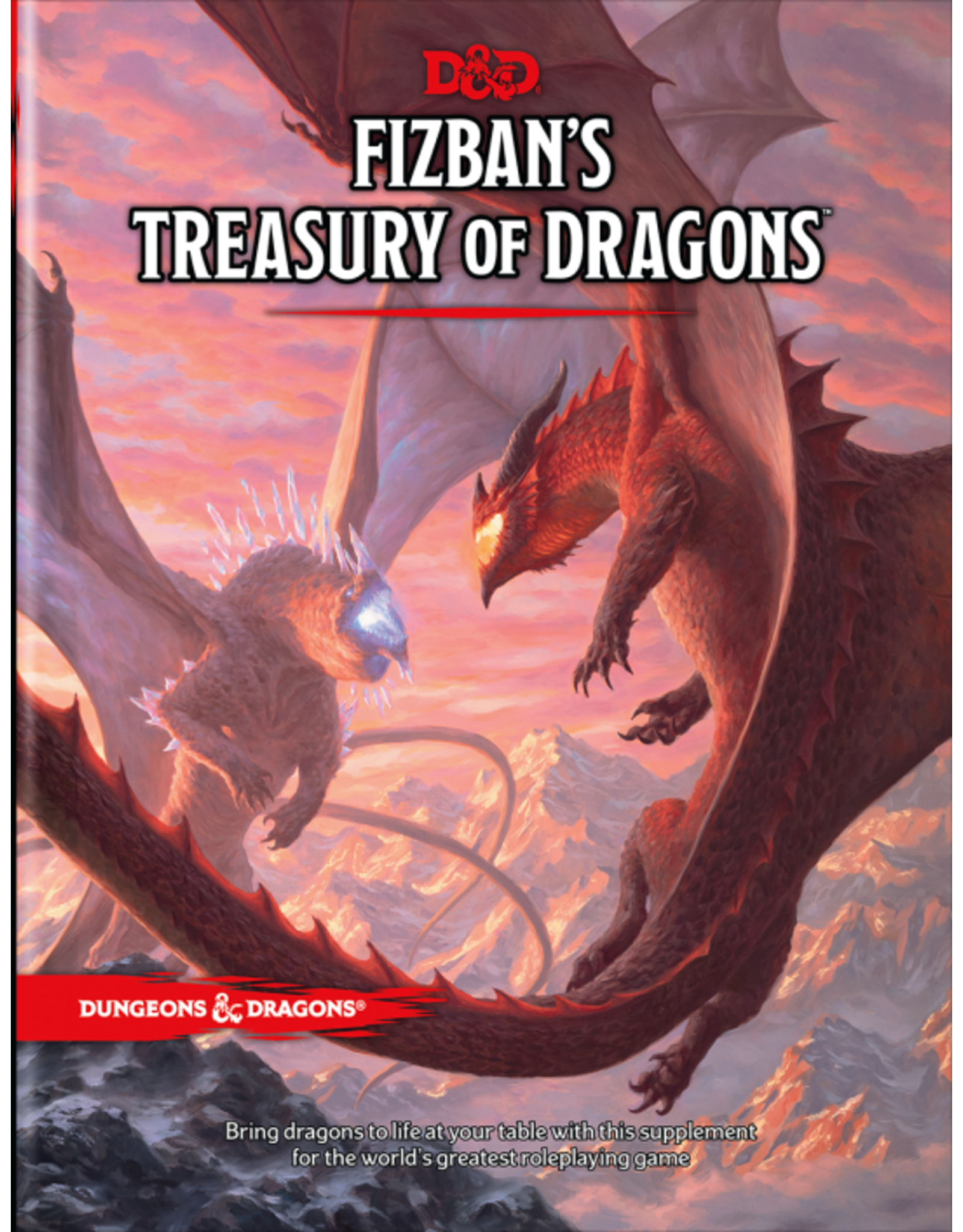 Wizards of the Coast Preorder Fizban's Treasury of Dragons