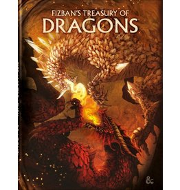 Wizards of the Coast Preorder Fizban's Treasury of Dragons Alt-Cover