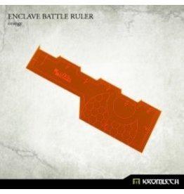 """Kromlech Enclave Battle Ruler (orange) 6"""""""