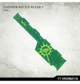 """Kromlech Hammer Battle Ruller (Green) 9"""""""