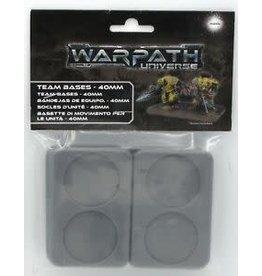 Warpath: 40mm Team Bases (10)