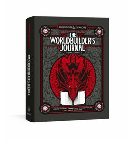 Wizards of the Coast The Worldbuilder's Journal of Legendary Adventures