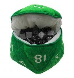 Ultra Pro D20 Plush Dice Bag - Green